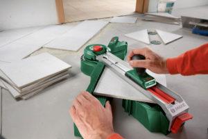 Электрический плиткорез или точный раскрой керамической плитки